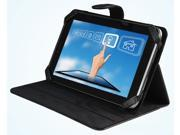 """vitalASC Sonic-ST0720 7"""" Android 4.0 Tablet PC - 1.2GHz, 1G DDR3, 8GB HDD, Wi-Fi b/g/n, Camera with Leather Case and Stand ( Black )"""