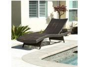 Christopher Knight Home Toscana Outdoor Wicker Lounge - Brown
