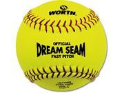 Worth 12 Inch Dream Seam Fastpitch Softball