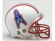 Creative Sports RD-OILERS-MR-Z2B Houston Oilers 1981-1996 Throwback Riddell Mini Football Helmet