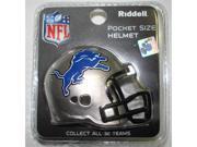 Creative Sports RPR-LIONS Detroit Lions Riddell Revolution Pocket Pro Football Helmet