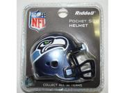 Creative Sports RPR-SEAHAWKS Seattle Seahawks Riddell Revolution Pocket Pro Football Helmet