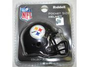 Creative Sports RPR-STEELERS Pittsburgh Steelers Riddell Revolution Pocket Pro Football Helmet