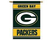 Fremont Die- Inc. 94816B 2-Sided 28 X 40 House Banner - Green Bay Packers