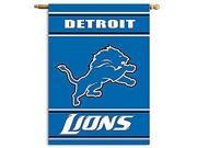 Fremont Die- Inc. 94821B 2-Sided 28 X 40 House Banner - Detroit Lions