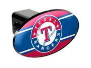 Great American Products GAP-HCC2127 Texas Rangers MLB Trailer Hitch Cover