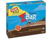 Clif 31863 Organic Chocolate Brownie Zbar