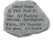 Kay Berry- Inc. 68220 Smart Stone If This Rock Is Wet Its Raining - Garden Accent - 12 Inches x 16 Inches