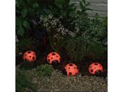 Ladybug Solar Light Set - Set of 4