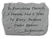 Kay Berry- Inc. 69120 To Everything There Is A Season - Memorial 18 Inches x 13 Inches