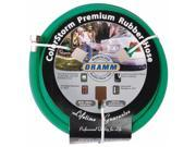 Dramm Corporation .63in. X 50ft. Green ColorStorm Premium Rubber Hose  10-17004