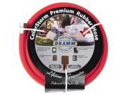 Dramm Corporation .63in. X 50ft. Red ColorStorm Premium Rubber Hose  10-17001