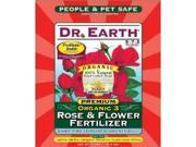 Dr. Earth DRE731 25no. Organic 3 Rose & Flower Fertilizer