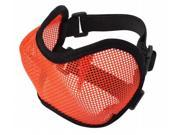 Doggles EYMELG26 Large Mesh Eyewear - Orange