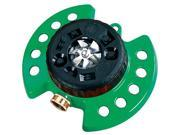 Dramm Corporation Green ColorStorm Turret Sprinkler  10-15024