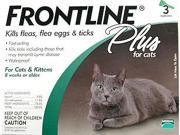 Merial FRONTLINEPLUS3-GREEN Frontline Plus 3 Pack Cat All Sizes - Green