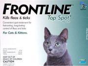 Merial TOPSPOT3-GREEN Frontline Topspot 3 Pack Cat All Sizes - Green