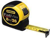 Stanley 680-33-726 1-1-4 X 8M-25 Fatmax Tape Rule