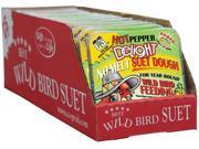 C&s Products 11.75 Oz Hot Pepper Delight Wild Bird No Melt Suet Dough  CS12553 - Pack of 12