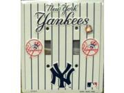 NY New York Yankees Light Switch Covers (double) Plates LS12015