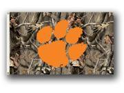 Bsi Products 95425 3 Ft. X 5 Ft. Flag W/Grommets - Realtree Camo Background - Clemson Tigers