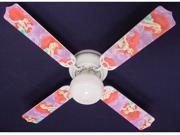 Ceiling Fan Designers 42FAN-DIS-DLMA Disney Little Mermaid Ariel Ceiling Fan 42 in.