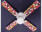 Ceiling Fan Designers 42FAN-DIS-DMM Disney Mickey Mouse no.1 Ceiling Fan 42 in.