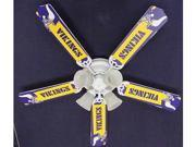 Ceiling Fan Designers 52FAN-NFL-MIN NFL Minnesota Vikings Football Ceiling Fan 52 In.