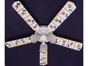Ceiling Fan Designers 52FAN-DIS-DMMW Disney Mickey Mouse no.2 Ceiling Fan 52 in.