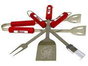 Bsi Products 61046 4 Pc Bbq Set - Maryland Terrapins