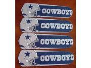Ceiling Fan Designers 42SET-NFL-DAL NFL Dallas Cowboys Football 42 In. Ceiling Fan Blades Only