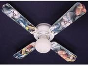 Ceiling Fan Designers 42FAN-KIDS-SFBS Soccer Football Baseball Sports Ceiling Fan 42 in.
