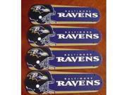 Ceiling Fan Designers 42SET-NFL-BAL NFL Baltimore Ravens Football 42 In. Ceiling Fan Blades OnlY