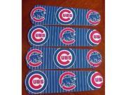 Ceiling Fan Designers 42SET-MLB-CHC MLB Chicago Cubs Baseball 42 In. Ceiling Fan Blades Only