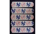 Ceiling Fan Designers 52SET-MLB-NYY MLB York Yankees Baseball 52 In. Ceiling Fan Blades Only
