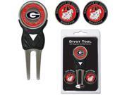 Team Golf 21145 University of Georgia Divot Tool Pack with Signature tool