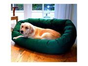 Majestic Pet 788995611431 40 in. Large Bagel Bed- Green