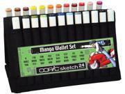 Alvin MNGAWALA Sketch Manga Wallet A 24 Pieces