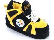 Comfy Feet - PST01LG - Pittsburgh Steelers Slipper - Large - 8 - 9.5