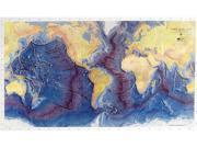 American Educational 436 Ocean Floor Map