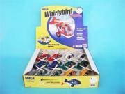 Daron TM408 Whirly Bird Pullback Helicopter 12 Pieces