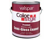 Valspar Brand 1 Quart Tint Base ColorStyle Interior Latex Semi Gloss Enamel Pai