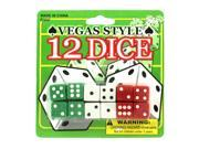 Vegas style dice - Pack of 48