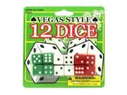 Vegas style dice - Pack of 72