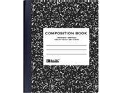 Bazic 508- 48 withR 100 Ct. Black Marble Composition Book- Pack of 48