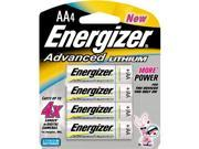 Energizer 353231 Adv Lithium AA 4 Pack