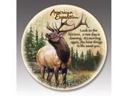 American Expediton CTST-104 American Elk Stone Coaster Set