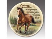 American Expediton CTST-110 American Mustang Stone Coaster Set