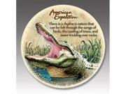 American Expediton CTST-115 Alligator Stone Coaster Set