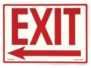 Jessup 397-EG-7520-F-103-RP Peel And Stick Eg Sign Glow Background&#59; Red Text